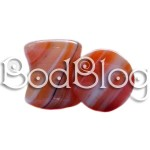 Sardonyx Double Flared Plug 10mm