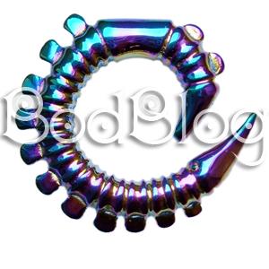 Rainbow Spiral 8mm