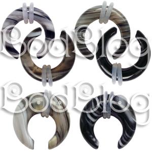 Tibetian Agate Buffalo Claws