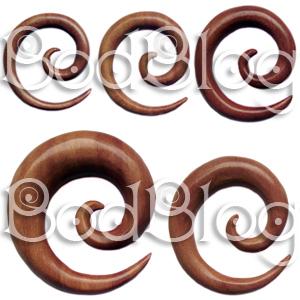 Saba Wood Spirals
