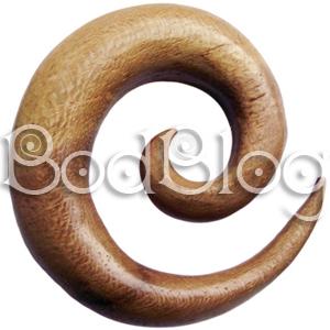 Teak Wood Spirals