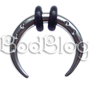 Steel Buffalo Claw with Dimples