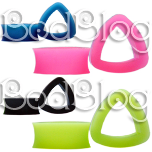 Triangle Silicone Tunnels