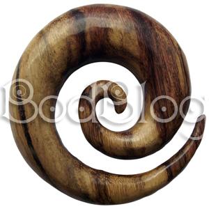 Tamarind Wood Spiral