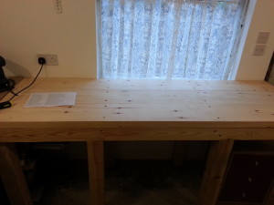 New workbench added for stone working tools